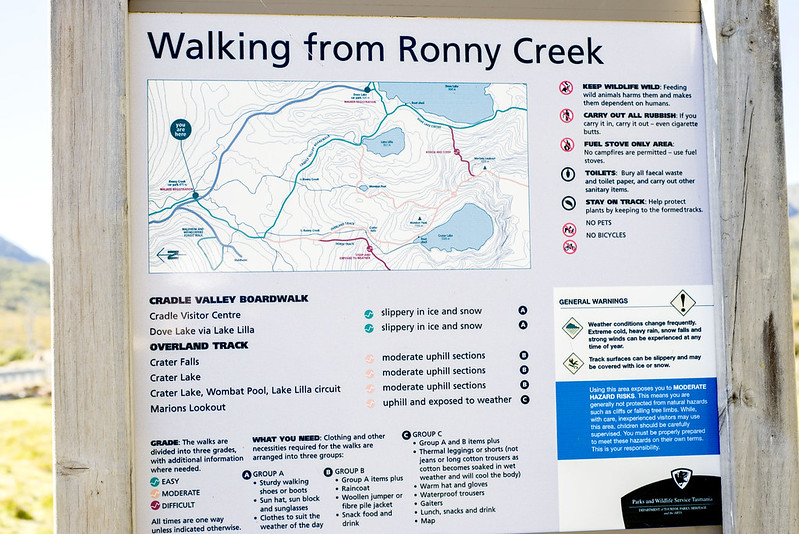 Ronny Creek hike, Tasmania