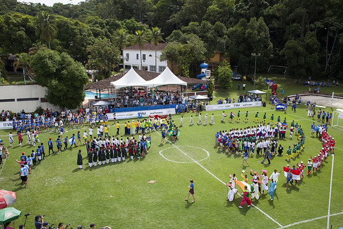 Opening Ceremony of The Street Child World Cup 2014