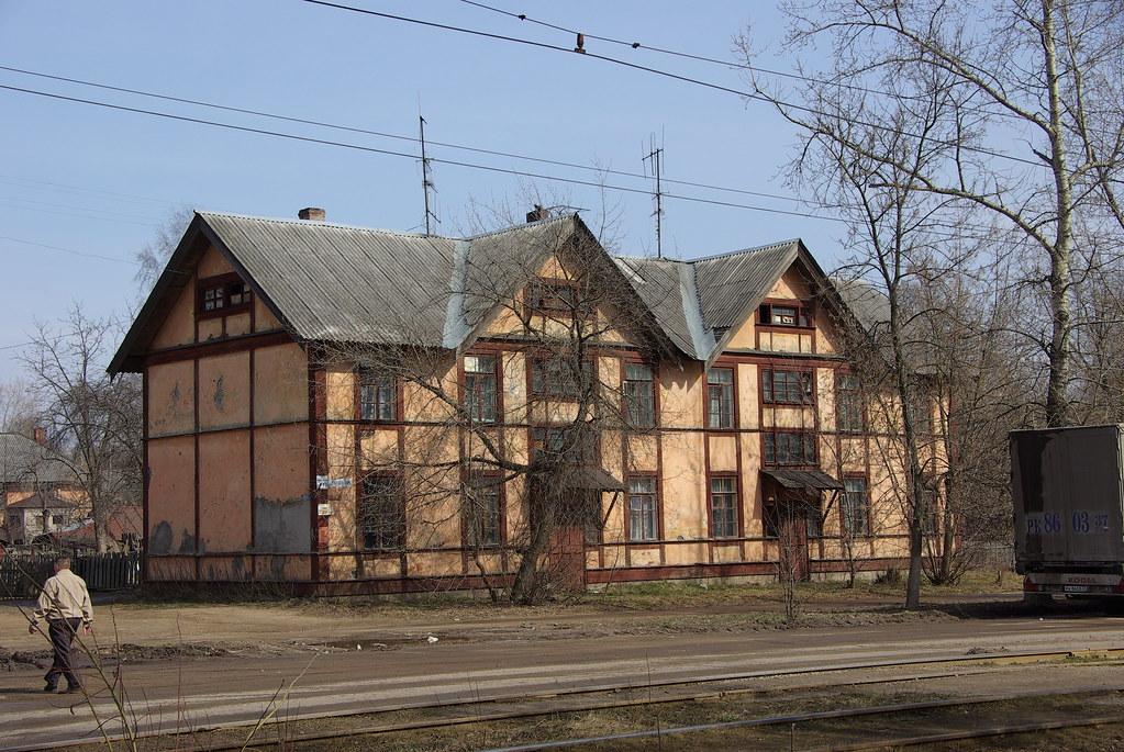 Soviet Fachwerk house Ivanovo_20080408_288