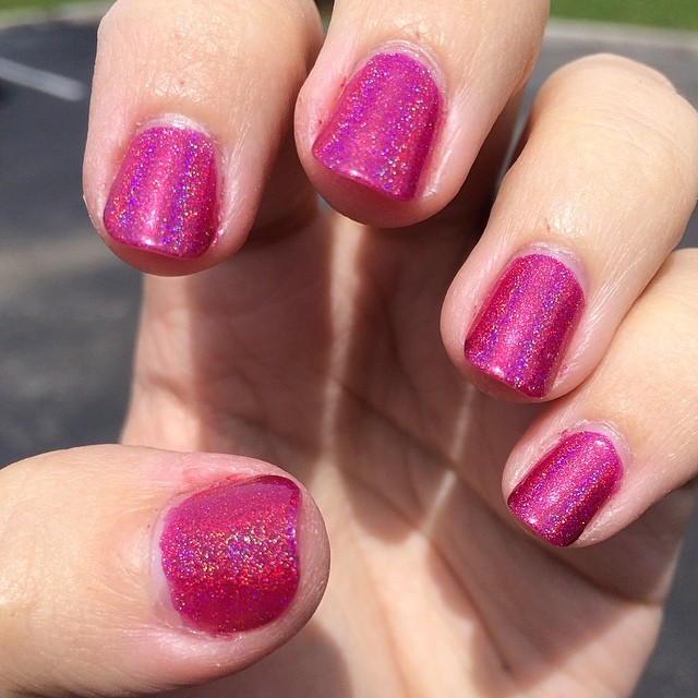 Another awesome #indiepolish #darlingdivapolish @darlingdivapolish #roomsonfire #stevienicksinspired #indienails #supportindies