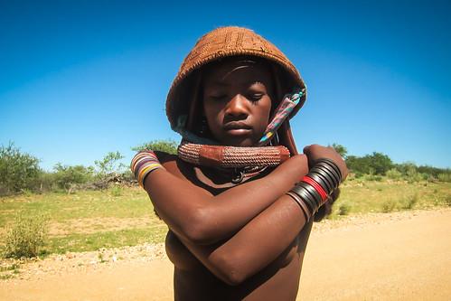 Enfants Himba dans le Kaokoland