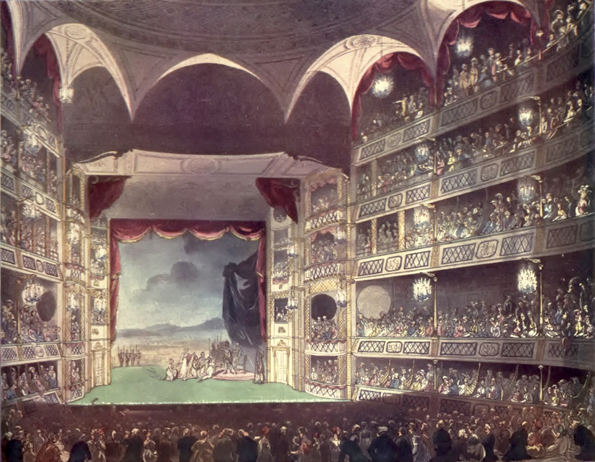 Drury Lane Theatre, 1807