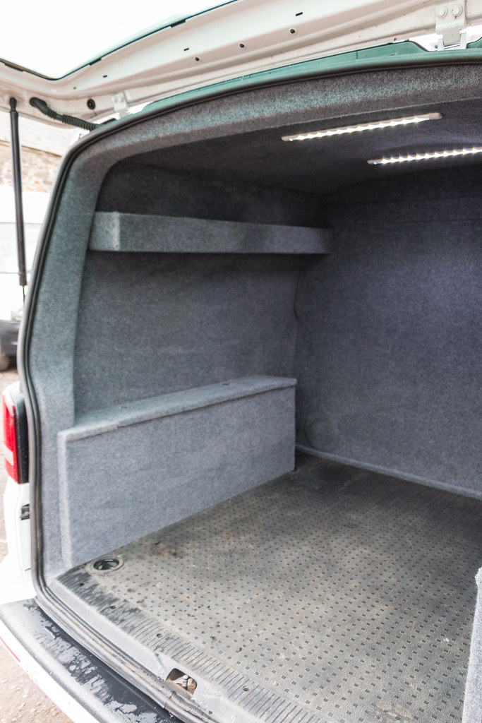 bdc1d7053d VW Transporter T5 - Carpet Lining   LED Lights-5