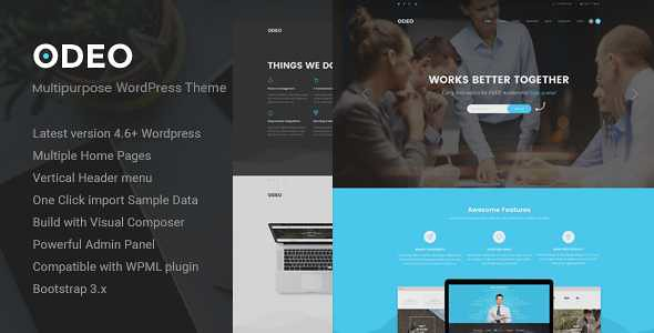 ODEO WordPress Theme free download