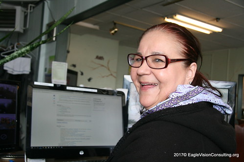 Barbara our dedicated Peer who brings joy to the Web