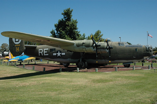 Consolidated B-24 Liberator at the Castle Air Museum