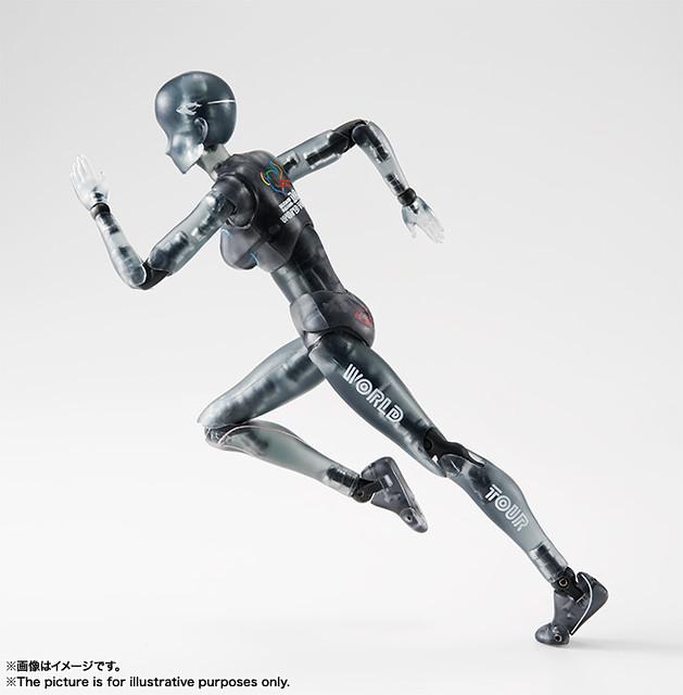 S.H.Figuarts 素體君/素體醬(ボディくん / ボディちゃん) WORLD TOUR Ver.【魂NATION 10th】