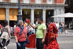 Negociando con los turistas - Madrid