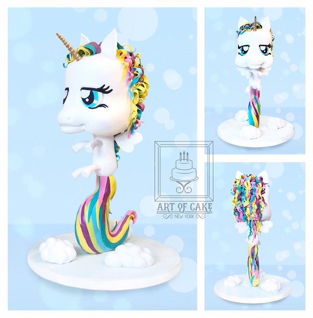 Gravity Defying Unicorn Cake by Magda Kubiś of Art of Cake