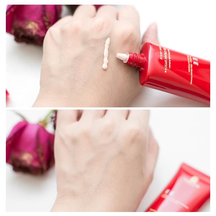 紅萃肌白EE素顏霜