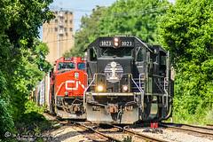 IC 1023 | EMD SD70 | CN Fulton Subdivision