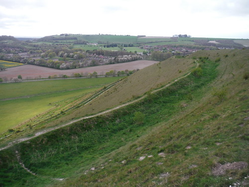 Battlesbury Camp flank