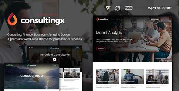 Consulting X WordPress Theme free download