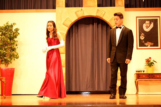 Θεατρική παράσταση 'Πρόσκληση στον πύργο'