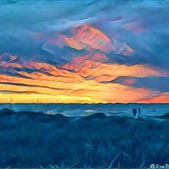 Sunset on Annamaria Island.