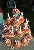 Easter egg nest fairy cakes