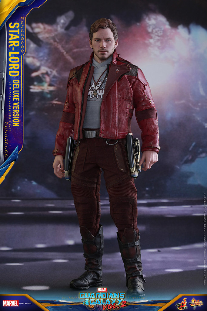 Hot Toys - MMS421《星際異攻隊2》1/6 比例【星爵】彼得·奎爾(豪華版) Guardians of the Galaxy Vol. 2 Star-Lord Peter Quill(Deluxe Version)