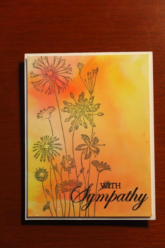 Gray Sympathy Flowers