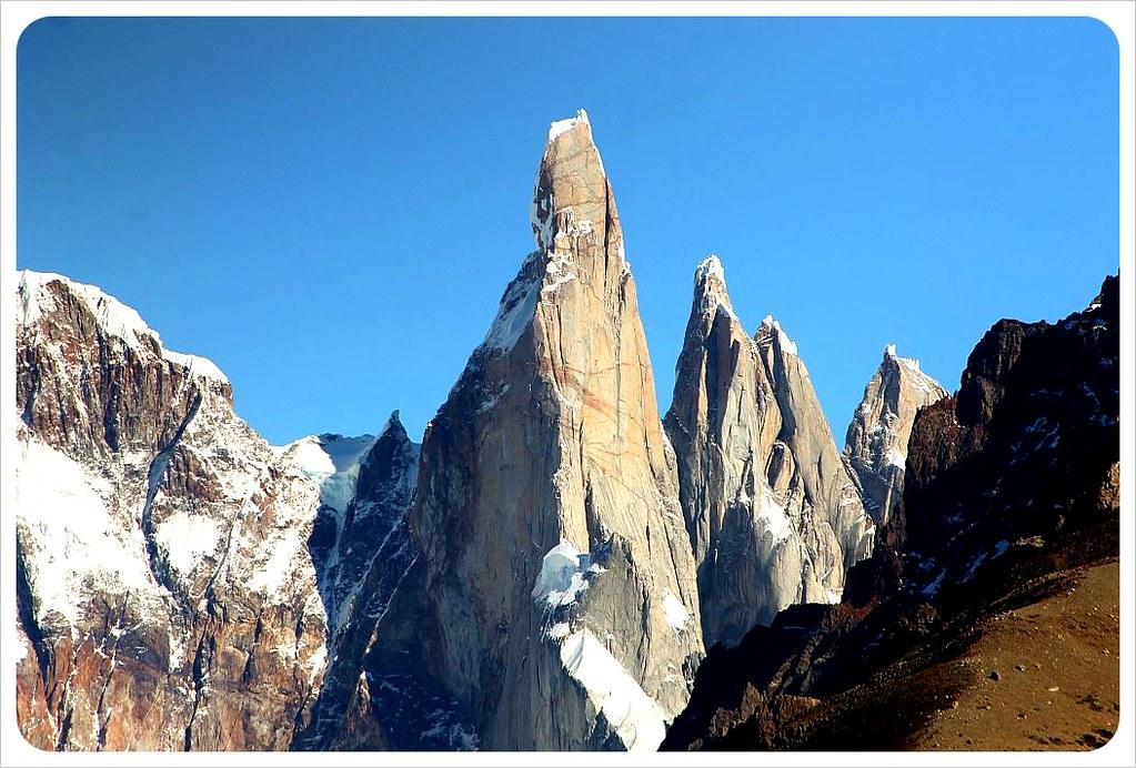el chalten mountain peaks