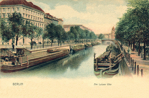 Луизенштадский канал в Берлине