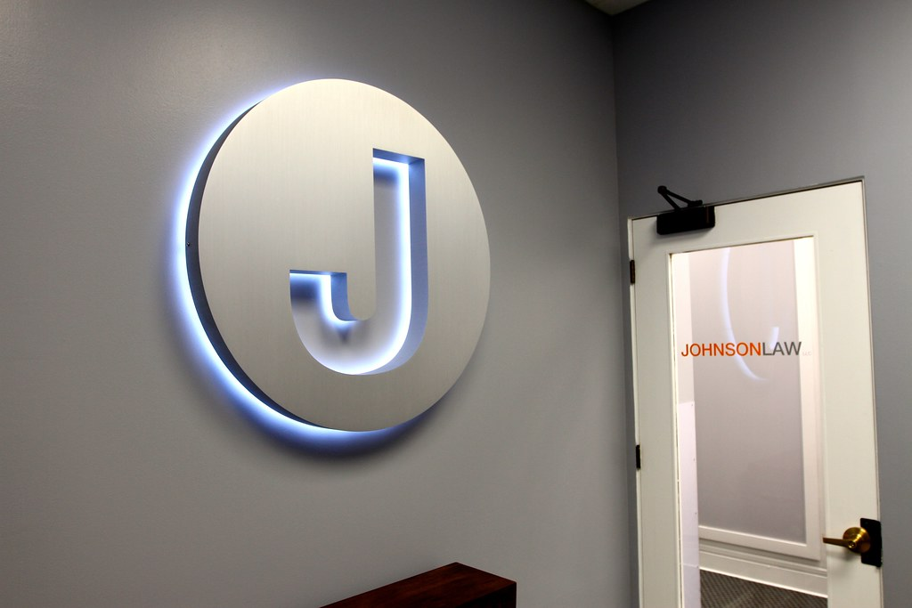 Backlit Lobby Signs Indoor Led Lighted Signs Impact Signs