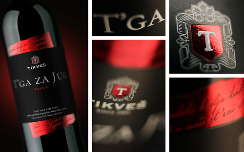 Wine Label Design: T'ga za Jug