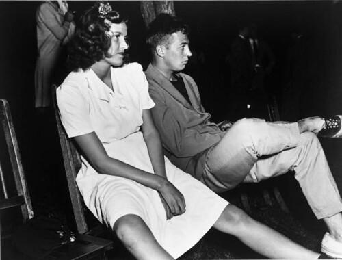 Young couple at a debutante party in Philadelphia, Pennsylvania