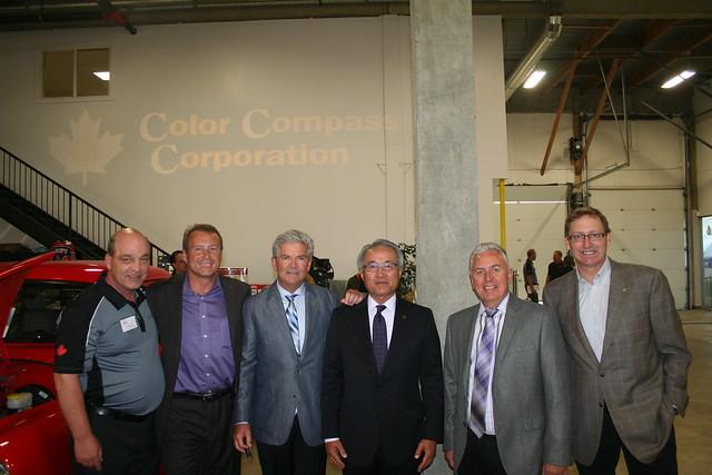 Color Compass Edmonton Training Centre Opening