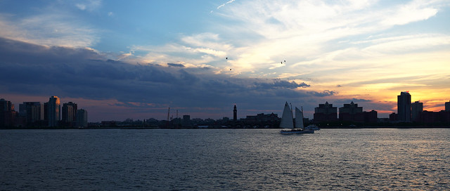 Manhattan West Side Hudson River Greenway