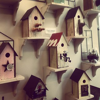 Can I have one of these for my little birdies please? #crafts #birdhouses #handmade