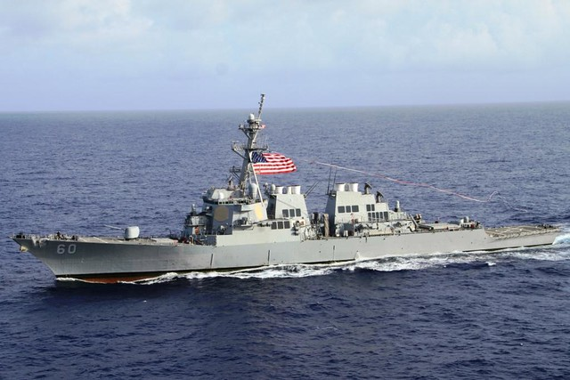 USS Paul Hamilton Raises Homeward Bound Pennant