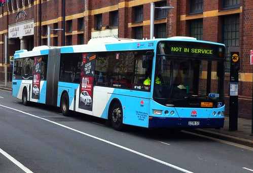 Bendy Bus - Sydney Buses fleet no 2278
