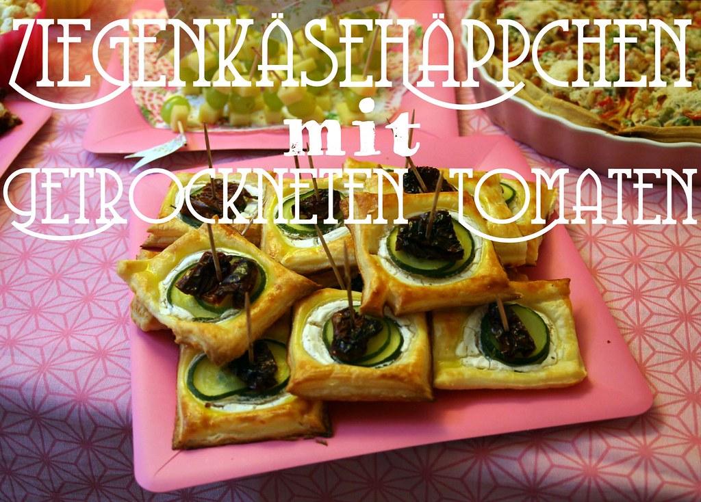 ziegenkäsehäppchen mit getrockneten tomaten {from miss to mrs.}