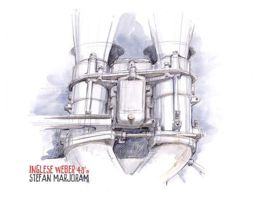 Weber 48 carburettors by Stefan Marjoram