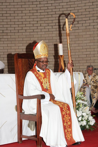 Botswana's new and fifth bishop, the Rt Revd Metlhayotlhe Rawlings Beleme