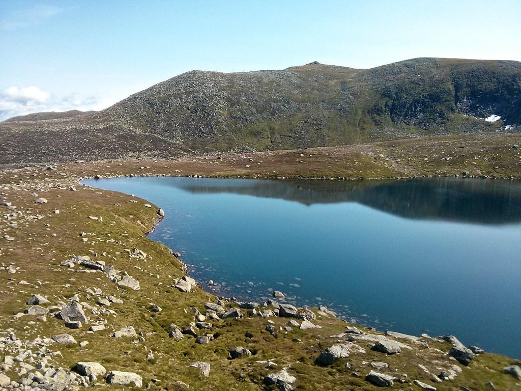 Lochnagar and Loch nan Eun