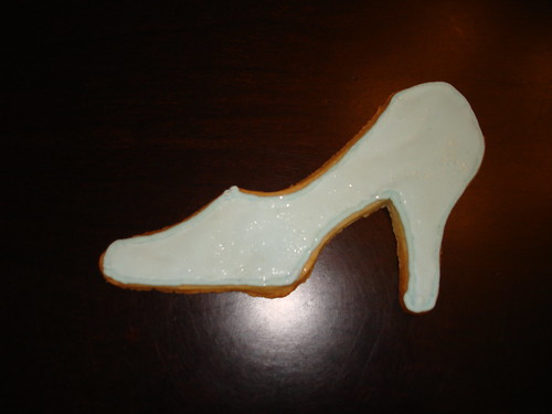 Cinderella's Glass Slipper Cookie
