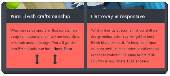 Responsive Email Template FlatroWay - Metro & Flat - 9