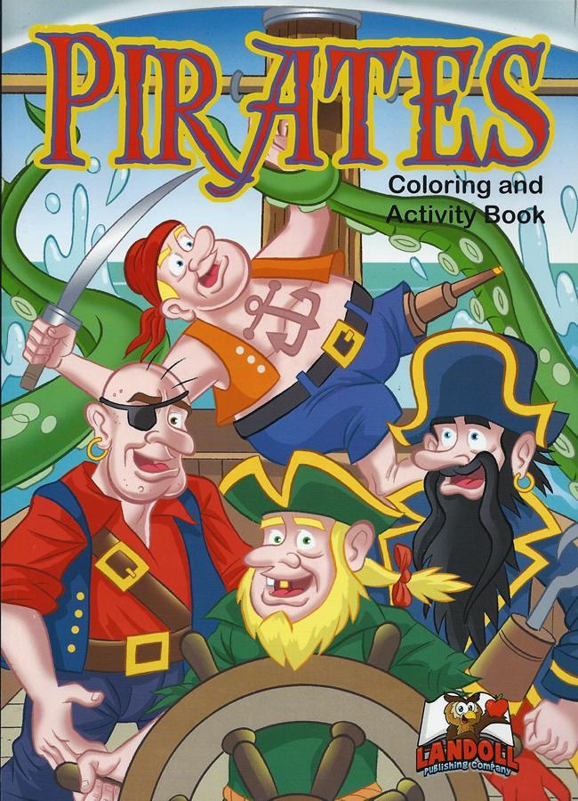 "Landoll Publishing Company :: ""PIRATES"" Coloring & Activity Book (( 2013 )) by tOkKa"