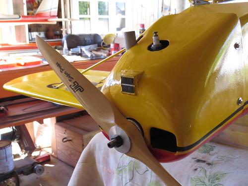 Repaginação de um Piper J-3 para um Neiva P56 C Paulistinha  9486540847_11f5aec850