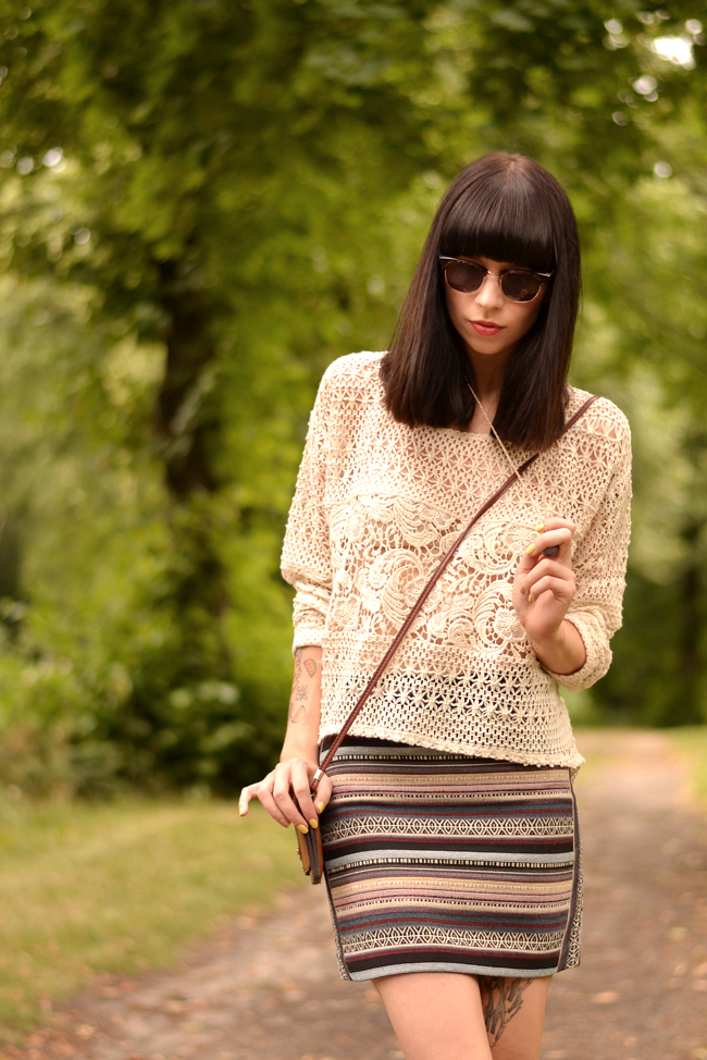 Boho Hippie Outfit H&M blogger 7