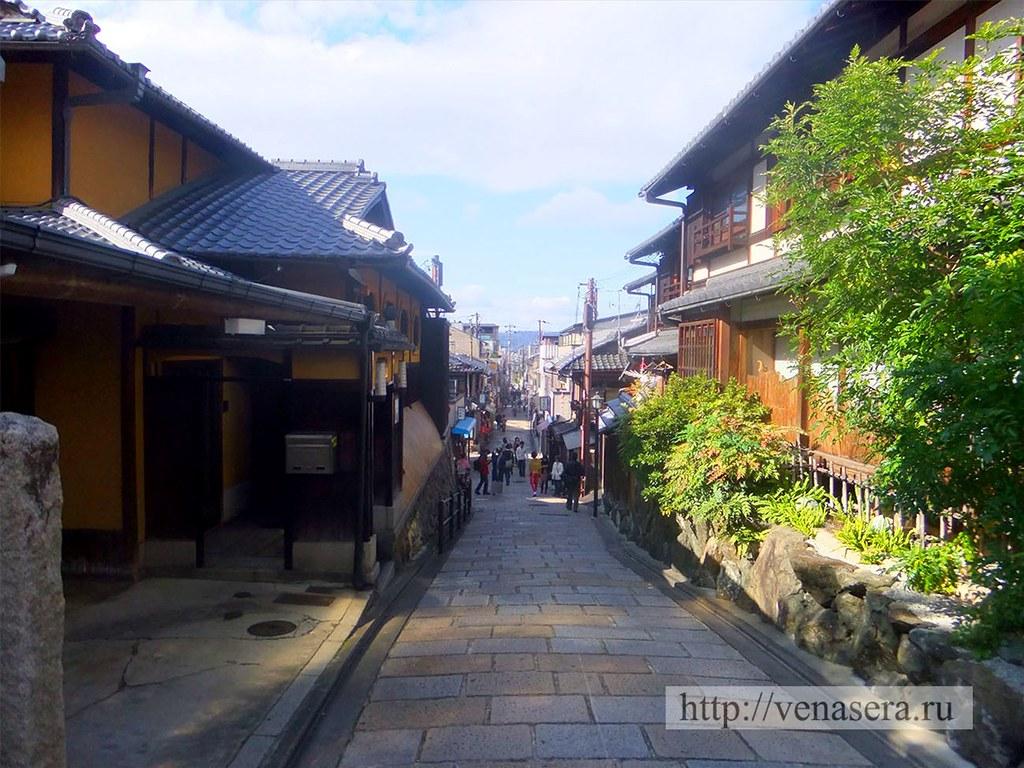 Улочки Киото