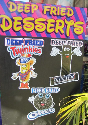 Deep Fried Twinkies, Snickers & Oreos at the Monterey County Fair