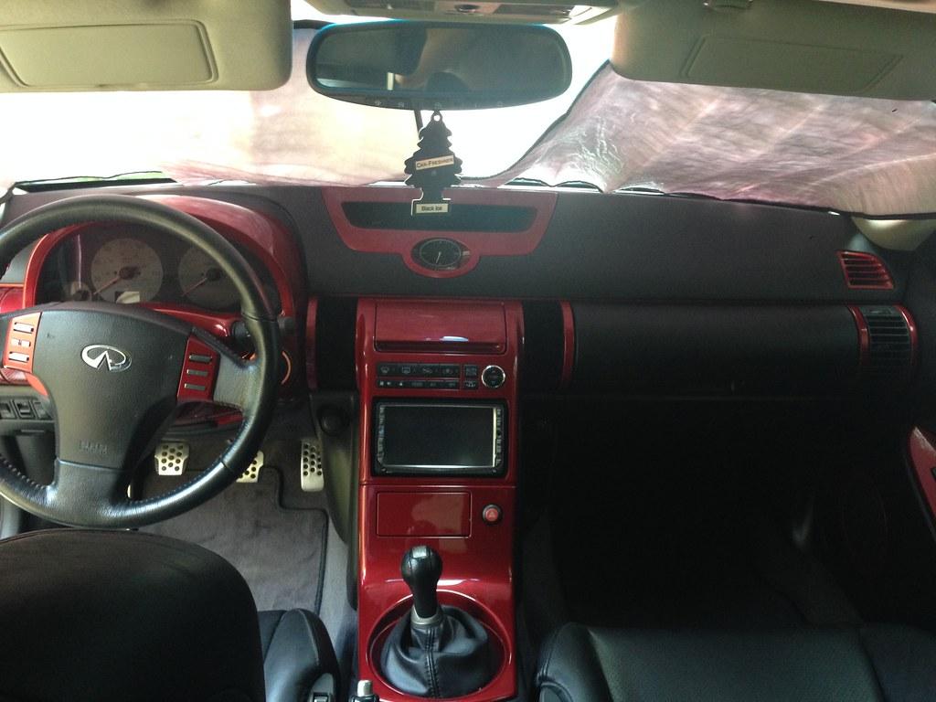 03 6mt g35 coupe build progression pics g35driver - Infiniti g37 red interior for sale ...