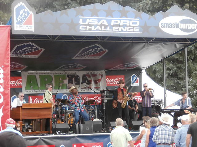 Events in Aspen Colorado - Taj Mahol performs for USA Pro Challenge