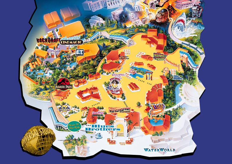 1998 Universal Studios Hollywood Travel Brochure | Page 2 | Inside ...