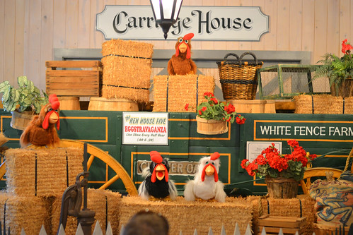 Carriage House Hen Show at White Fence Farm