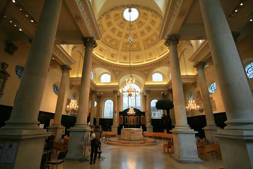 St Stephen Walbrook, City of London
