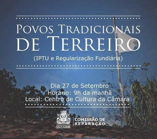 Regularização Fundiária e IPTU dos Povos Tradicionais by Biblioteca Abdias Nascimento