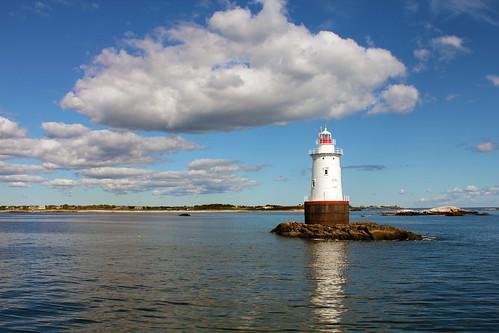 Sakonnet Lighthouse, Little Compton, Rhode Island by nelights